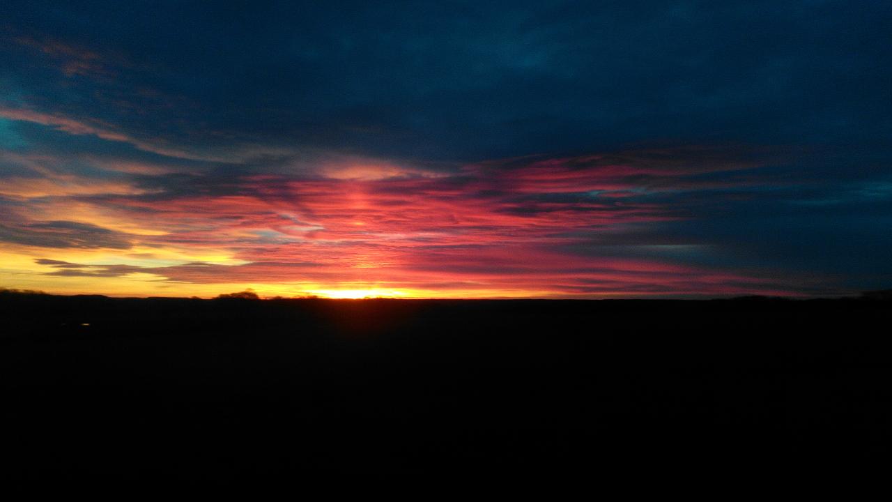 Sonnenaufgang im Norden