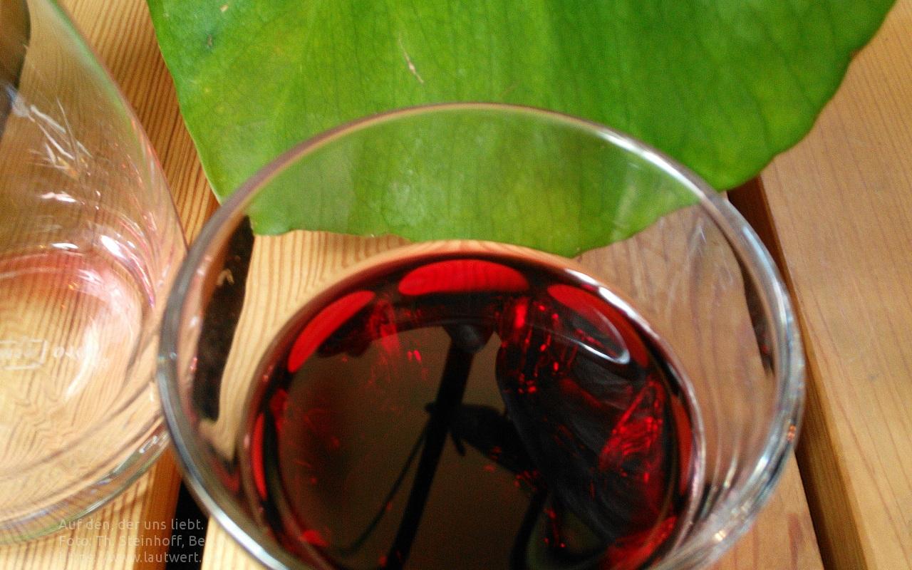 Trinkspruch von P. Richard Loftus SJ: Auf Den, Der uns liebt