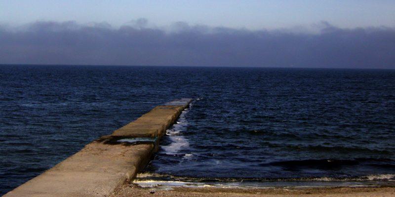 Badesteg in Odessa (Schwarzes Meer)