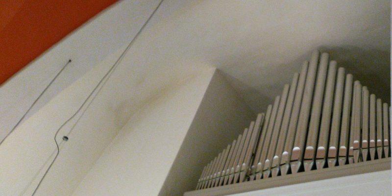 Prinzipal-Pfeifen der Klais-Orgel in St. Joseph Berlin Weissensee
