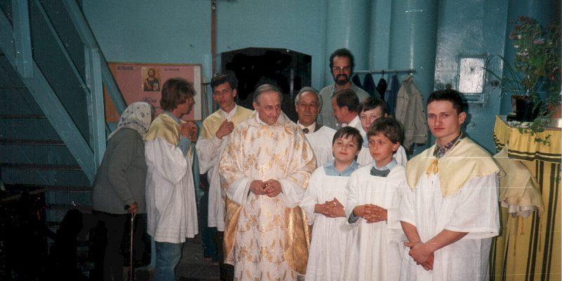 In der Sakristei (Odessa 1994)