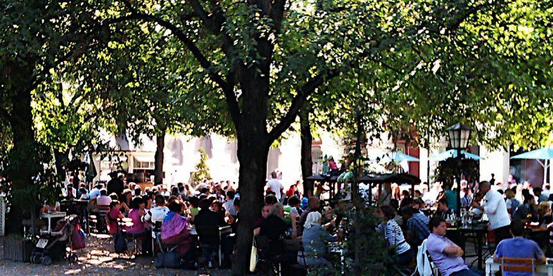Sommer im Münchner Hofgarten