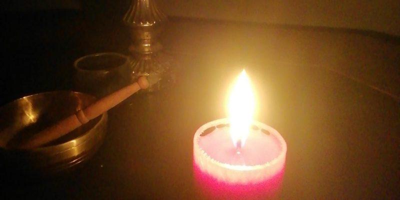 Kerze zum Hohen Donnerstag