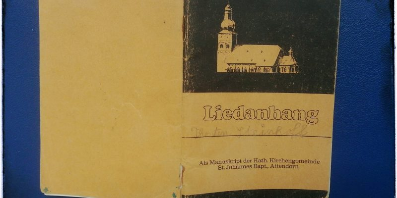 Liedanhang aus Attendorn (ca. 1973)