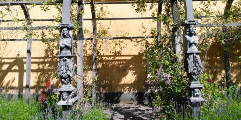 Ruheplatz im Kräutergarten des Vasa-Museet Stockholm