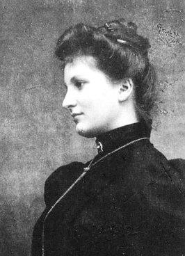 Alma Mahler vor 1899